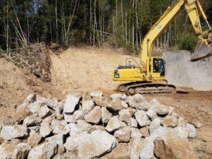 海吉地内地山崩壊災害復旧工事