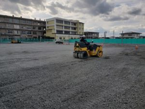 スポーツ施設新設造成工事